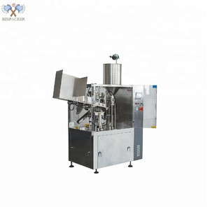 Plastic aluminum tube filling and sealing machine