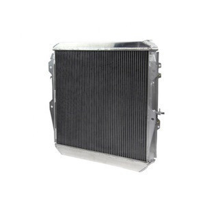 Racing Car Engine Spares Parts Cooling System All Aluminum Radiator for Japan Toyota Hilux Left Hand Drive