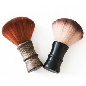 Salon Barber Synthetic Nylon Shaving Knot Hairdressing Neck Duster Brush for Mens