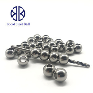 Stainless steel ball with hole