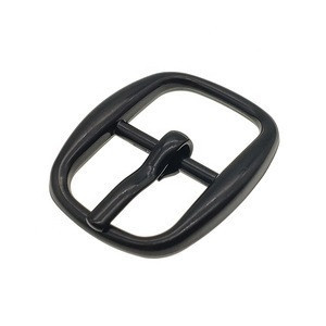 Wholesale Zinc Alloy Garments Accessories belt buckle hardware Matte Black Handbag Use Pin Buckle Metal Belt Buckles