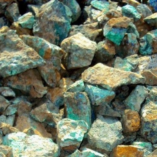 Copper Ore Cu 10-35% with variety of Cu % in CIF or FOB and L/C terms