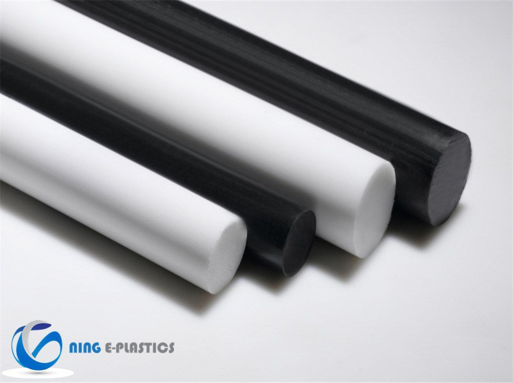 Plastics ESD POM Anti-Static Acetal Round Bars Rod for Gear