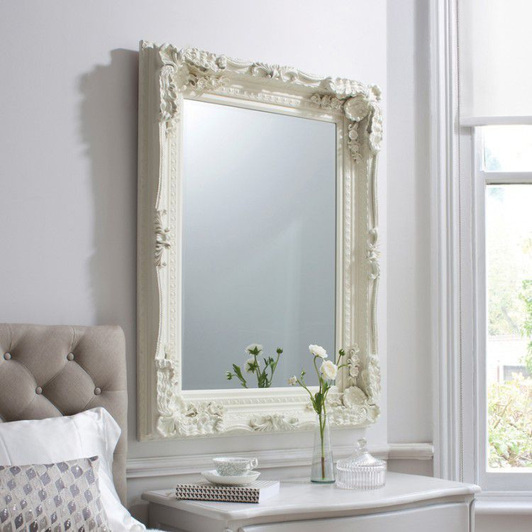 Carved home decorative Mirror with wooden frame