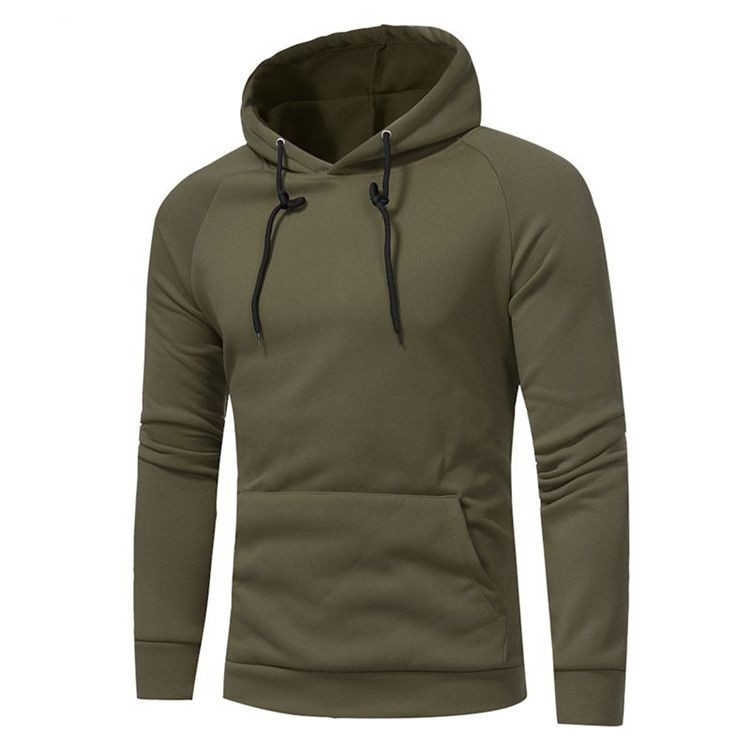 Cotton Pullover Hoodie