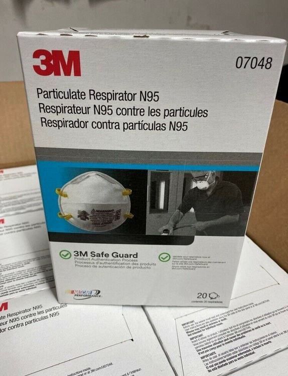 Best selling 3 M mask 1860 N 95 healthcare particulate