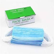 Face mask sugical disposable
