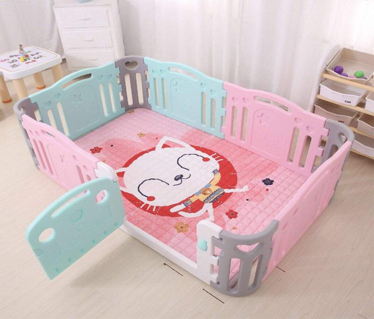 Colorful safety Outdoor plastic Children Play playpen, playyard ,baby play fence