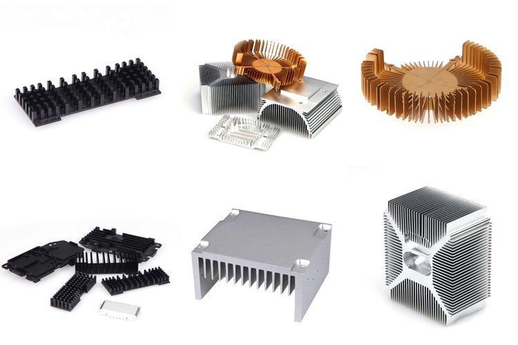 Customized Aluminium Extrusion Heatsinks
