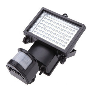 10W 60LEDs  Outdoor Waterproof Infrared Ray Induction  Street Lamp Corridor Landscape Lamp Solar Power Human Body Induction Lamp