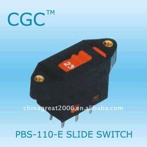 220V slide switch CE ISO9001 ROHS mini slide switch