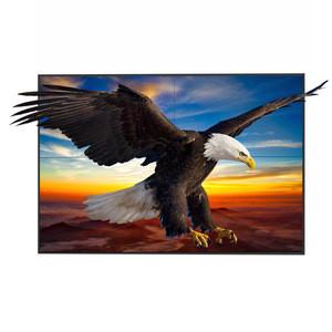 46 inch 3D monitor tv 4x4 lcd video wall 3.5mm ultra narrow bezel 4k glasses free 3D lcd video wall