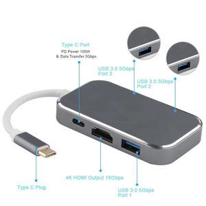 5 in 1 USB C Hub HDMI USB3.0