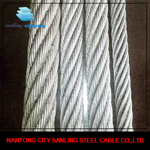8*19S +FC Escalator Steel Wire Rope