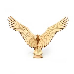 Amazon hot sale Children kids like wooden puzzle 3D eagle education toys