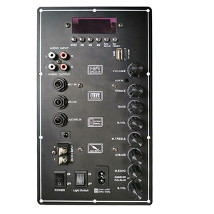 Amplificadores De Potencia Car Circuit Board Audio Amplifier With Echo Volume Control Amplifier Module