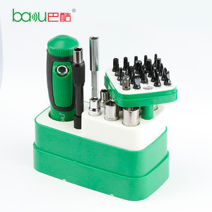 BAKU ba-3038 Multifunctional pocket magnetic screwdriver set for mobile made in China
