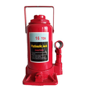 Ce Certificate 16 Ton Red Manual Screw High Lift Car Transmission Bottle Vertical Hydraulic Jack