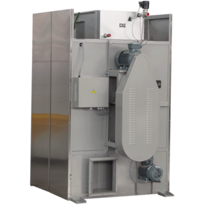 Commercial laundry tumbler dryer for clothes