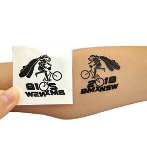 Custom bike tattoo sticker body sticker,skin safe temporary tattoo sticker
