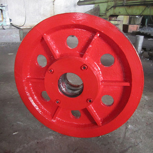 Custom Cast Steel Wire Rope Sheave Pulley