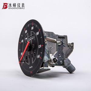 Custom  lcd bajaj pulsar cafe racer  135 150 bws  cable counter  digital meter sensor speed meter counter motorcycle