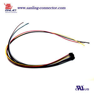 Customized MX 3.0mm 6P male housing wire cable assembly
