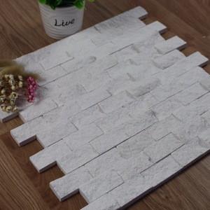 Decorstone24 Split Face White Limestone Mosaic Tiles For Home Decoration