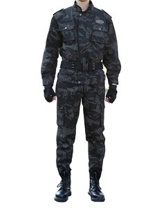 Digital camouflage zebra tactical army combat military uniform with the characteristic