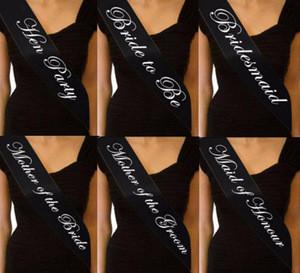 Gifts cheap customized shoulder girdle straps girls bridal wedding birthday party sash
