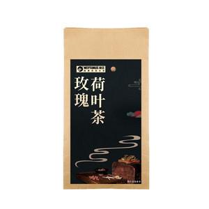 Healthy drink rose lotus leaf tea slimming beauty herbal tea lose weight tea