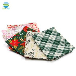 High Quality fat quarter bundles 100% cotton fabric 5 pieces pack in stock