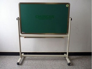 High quality Magnetic whiteboard green chalk writing black dry erase board eraser for classroom office