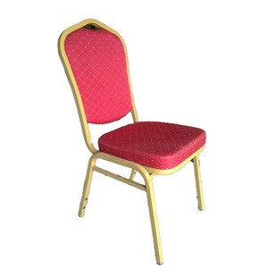 Hotel furniture hot new products stacking banquet chair for sale