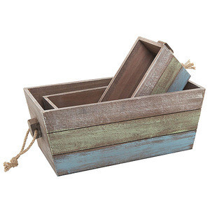 Household Fancy cheap wooden fruit crates for sale