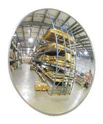 Indoor Convex Mirror 26 Dia Acrylic