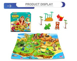 Indoor safety infant activity puzzle game soft kids toys play mat for sale