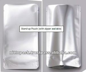 Japanese soft aluminium foil packaging bag for retort pouch