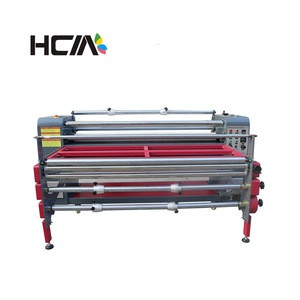 Large format sublimation hydraulic embossing machine for curtains/ shower curtain/ wall tapestry
