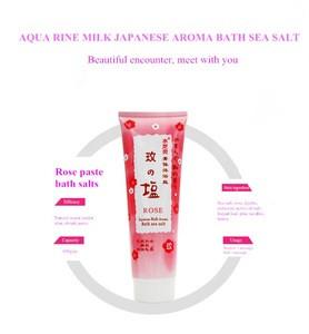 Lasting fragrance & delicate foam bath aroma bath sea salt