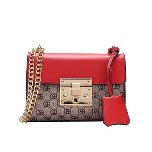 Luxury Handbags Women Bags Designer Version Luxury Wild Girls Small Square Messenger Bag