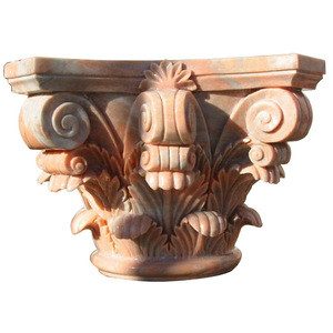 Morden luxury natural marble decoration house pillar designs for building materials from  china