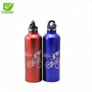 Most Popular Give Away Top Quality Logo Custom Aluminum Sport Water Bottle