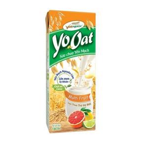 Multifruits Cereal yogurt 180ML helps balance weight