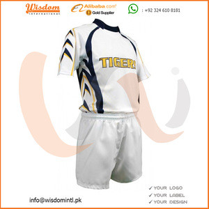 New Design White Rugby Uniform