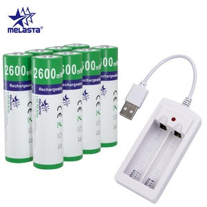 NiZn aa 1.6V 2600mWh  rechargeable battery for CD players,mouse,keyboard,electronic toys