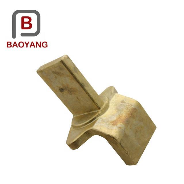 OEM forging Brass Hot Forging Parts CNC Machining Parts