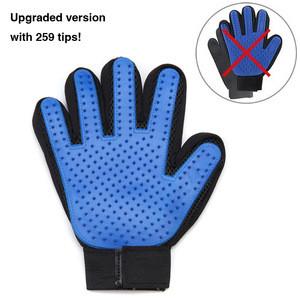 Pet Grooming Glove Massaging Tool 255 Tips 259 Tips