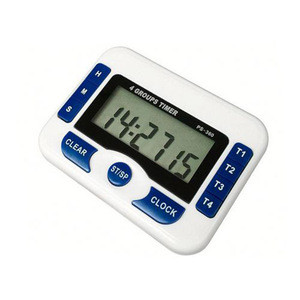 PS-360 Digital Kitchen Timer 4 Groups Timer for Laboratory Countdown Clock