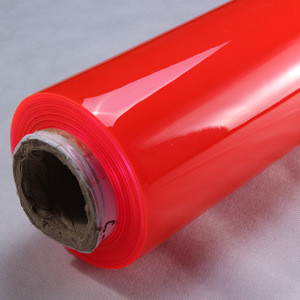 PVC coloured  Soft super Clear PVC Film in rolls for Cosmetic Bag